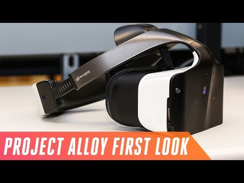 Intel's Project Alloy headset mixes reality with fiction