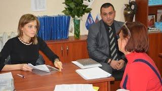 Наталья Поклонская провела личный приём граждан в г. Евпатории (25.10.2016 г.)