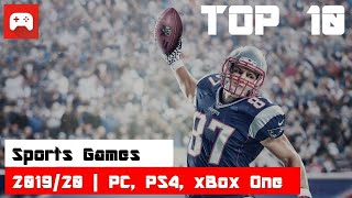 Top 10 | Bęst Sports Games | 2019 & 2020 | PC, PS4, xBox One