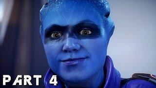 MASS EFFECT ANDROMEDA Walkthrough Gameplay Part 4 - Kett (Mass Effect 4)