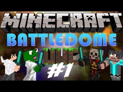 Minecraft: Battle-Dome UHC w/ BlameTC, Grapeapplesauce & Kermit Part 1