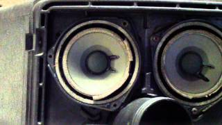 1982 Bose Model 802 Professional Loudspeaker Repair - Refoam Part 1 of 3.