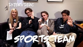 Interview With Sports Team New EP, Jumping Challenges Fighting Over Eggs.mp3