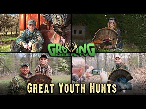 Turkey Hunting: Never A Dull Moment with 4 Toms Killed! (#282) @GrowingDeer.tv