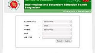 SSC and HSC Bord Result of Bangladesh educationboardresults all Update.