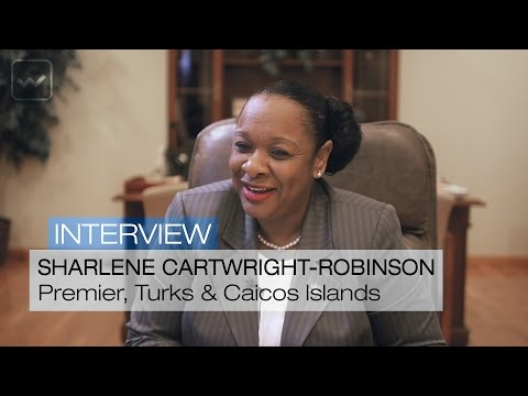 Sharlene Cartwright-Robinson, Premier of the Turks & Caicos Islands - World Investment Interviews