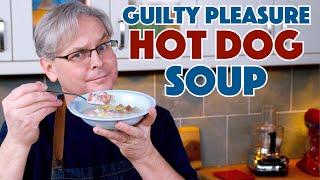⁉️ Guilty Pleasure - Hot Dog Wiener Soup || Glen & Friends Cooking