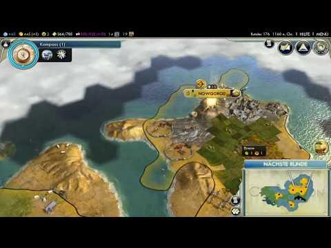 Let's Play Civilization 5 HD Part 22 - Durch das Gebirge |