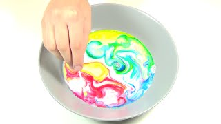 Milk + Food Coloring + Dish Soap = Awesome Science Magic Experiment