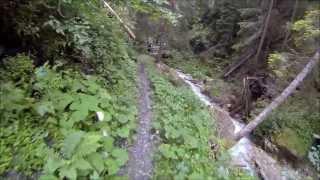 Mountain Biking in the Alps 2013
