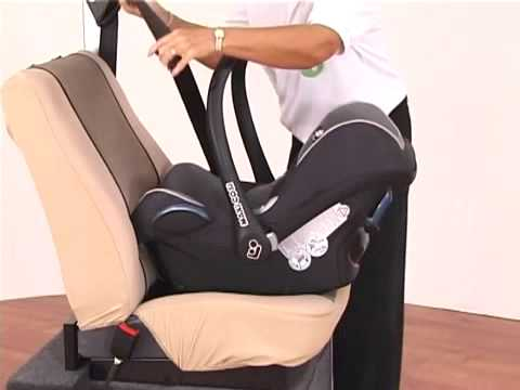 Maxi Cosi Cabriofix Car Seat - YouTube