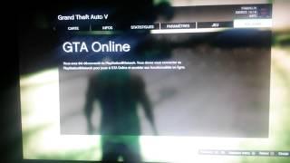 J'arrive pas a jouer gta online