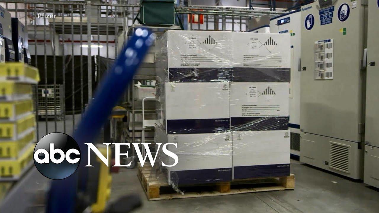 Pfizer prepares to ship 2.9M COVID-19 vaccine doses across US – ABC News