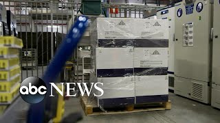 Pfizer prepares to ship 2.9M COVID-19 vaccine doses across US