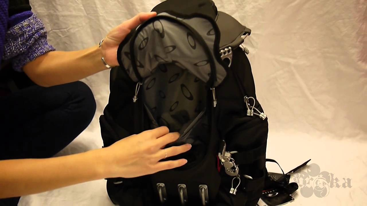 quick look oakley bathroom sink backpack black