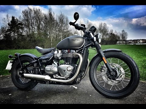 Triumph Bobber Review Youtube