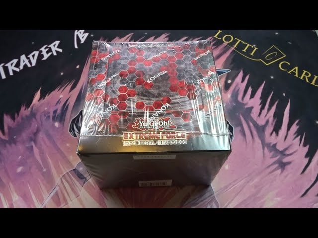 Opening Extreme Force Special Edition Display feat  BLS Unboxing