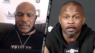 """WHY? WE NOT WOMEN!?"" ROY JONES JR GOES OFF OVER 2 MINUTE ROUNDS IN MIKE TYSON FIGHT!"