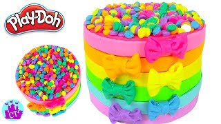 How to Make Play Doh Food Creations Rainbow Cakes and Cupcakes - Castle toys Compilation 1