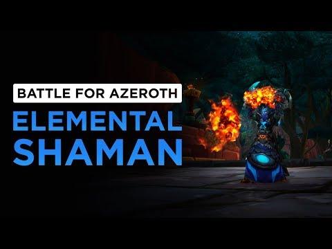 Elemental Shaman   WoW: Battle for Azeroth - Alpha [1st Pass]