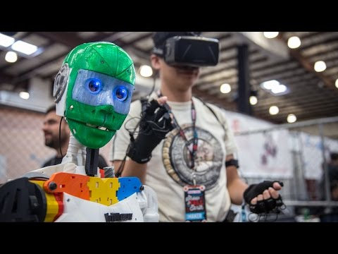 3D Printed Open Source Telepresence Robot!