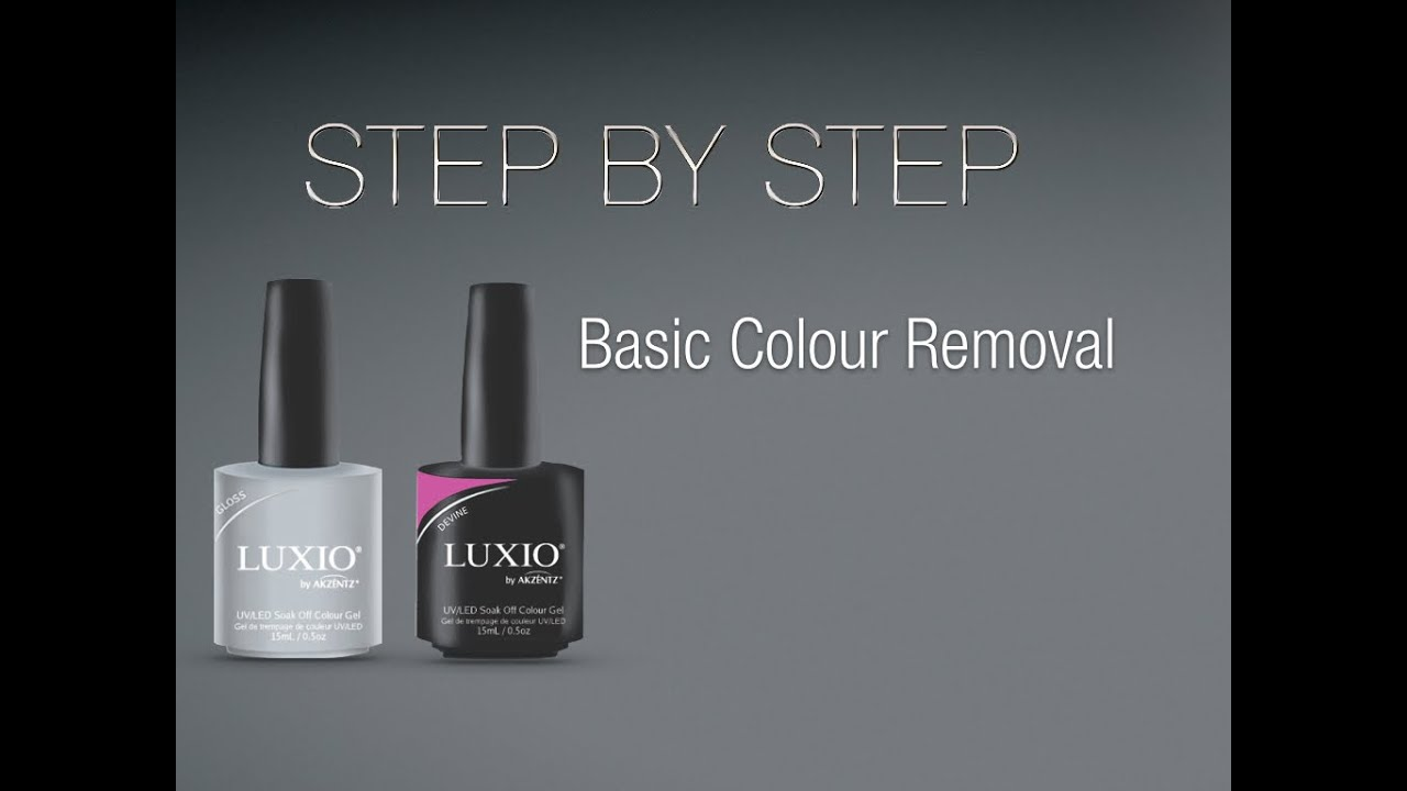 Luxio Basic Colour Removal - YouTube