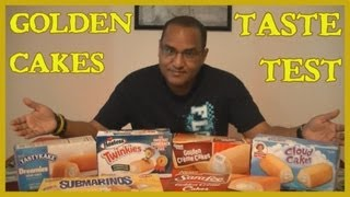 Twinkies And The Golden Cakes Taste Test