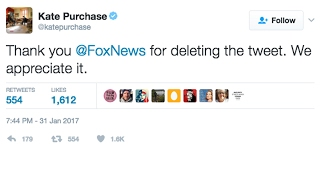 Fox News Forced To Apologize And Delete Tweet. Canada FTW