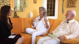 Selbstheilung: Kurt Tepperwein und seine Lebensgefährtin Nada