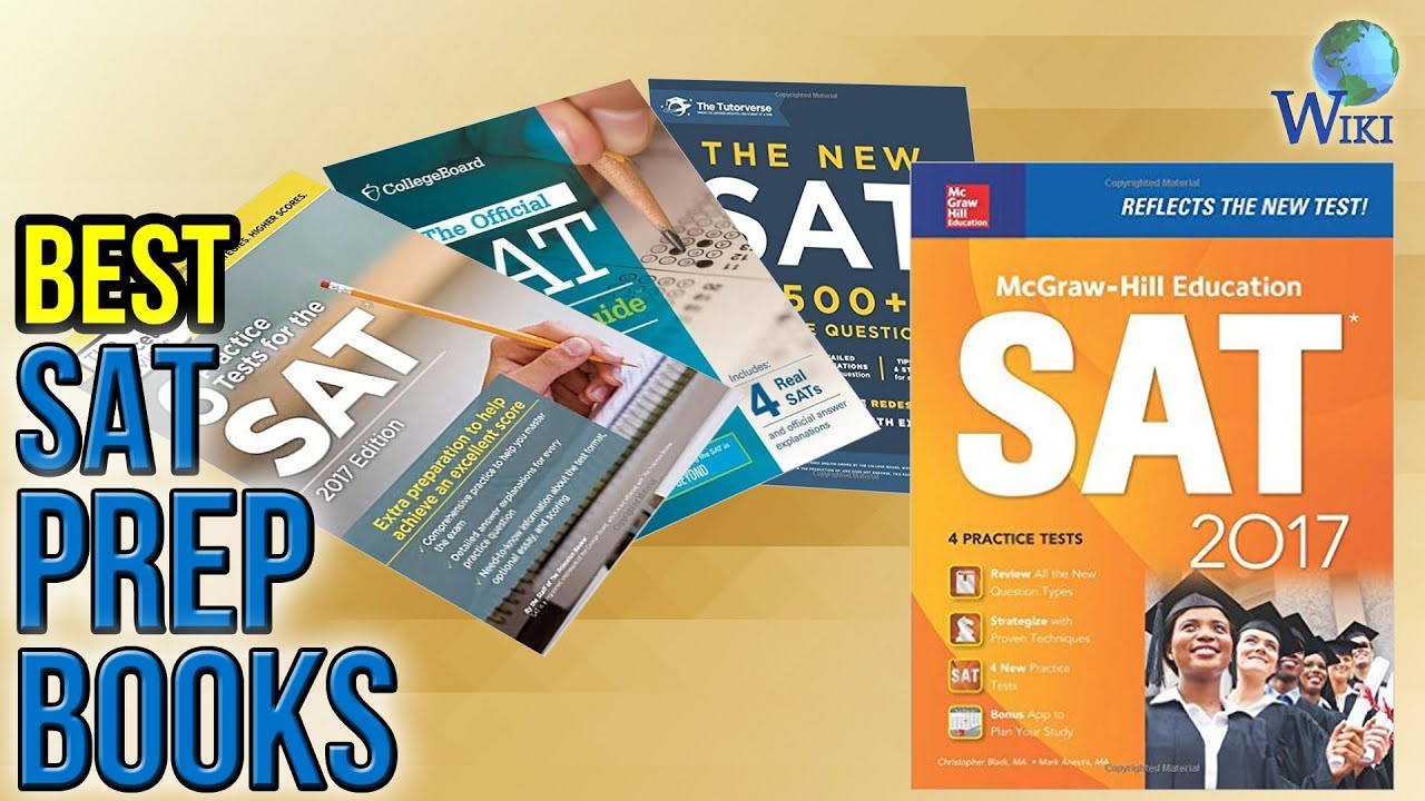 8 Best SAT Prep Books 2017