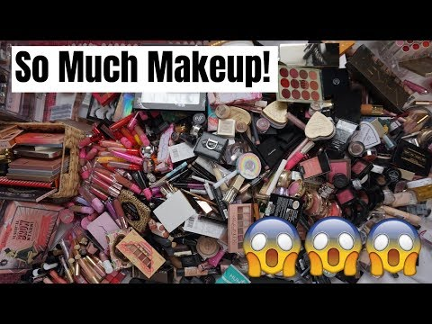 ORGANIZING MY ENTIRE MAKEUP COLLECTION | Paige Koren