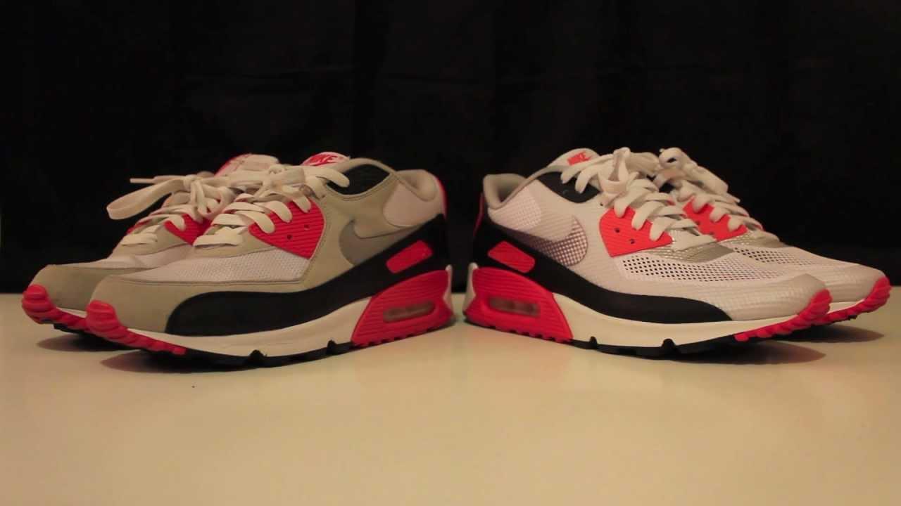 b32bb90f663 Comparison  Nike Air Max 90