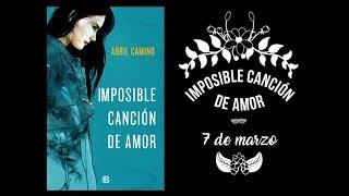 «Imposible canción de amor» | Booktrailer