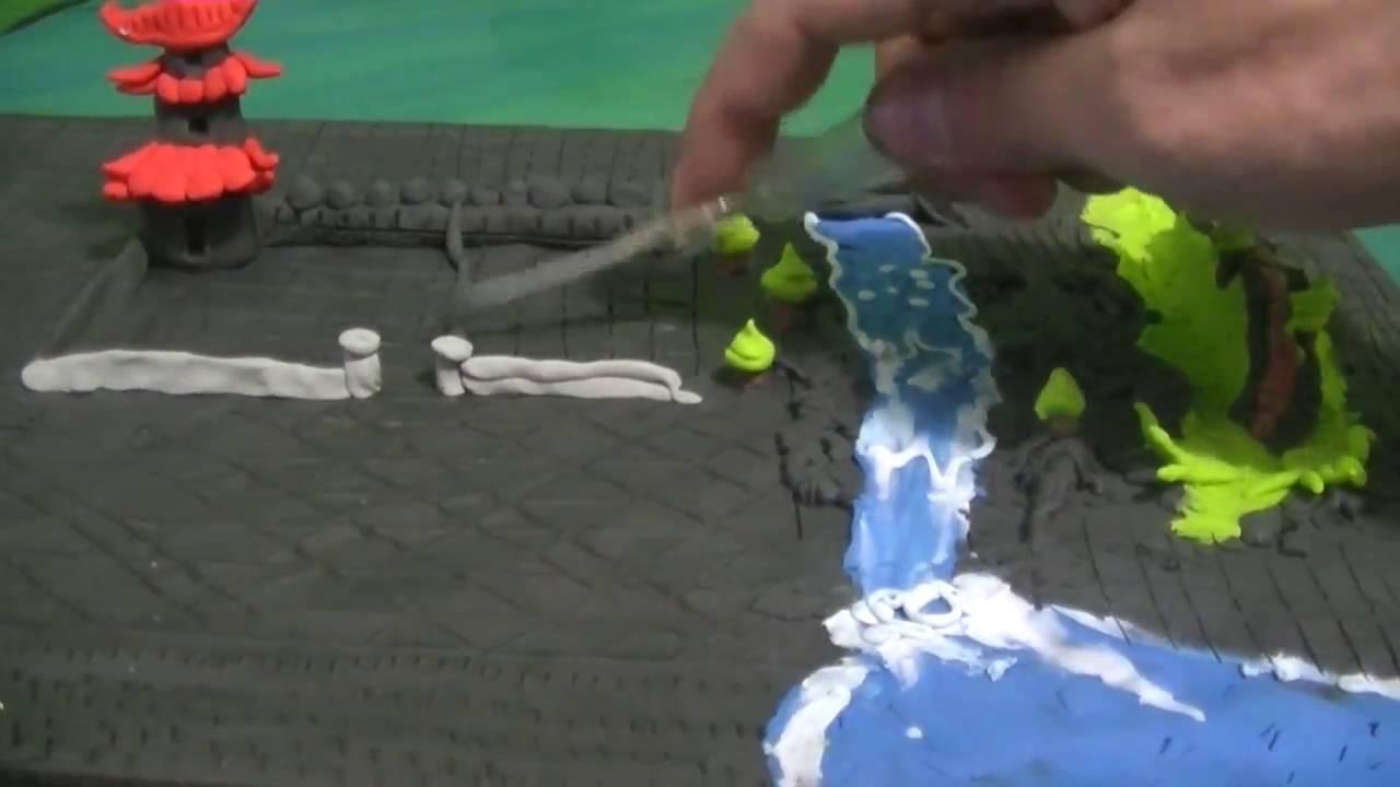 Como hacer una maqueta plastilina youtube - Como hacer una mosquitera ...