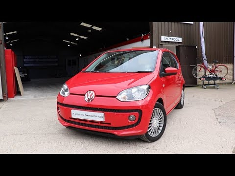 Volkswagen UP! | Double Din Headunit Install | CBS Automotive