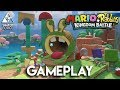 Mario Rabbids Kingdom Battle GAMEPLAY - FIRST SWITCH GAMEPLAY REVEAL