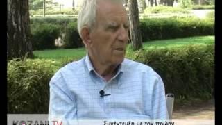 Ο Γιάννης Παγούνης στο kozani.tv