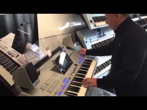 yamaha tyros 4 yamaha cvp 705 youtube. Black Bedroom Furniture Sets. Home Design Ideas