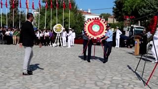 28 Şubat Kafası: İzmir Foça'da Gaziler Günü töreninde 'kıyafeti uygun değil' protestosu
