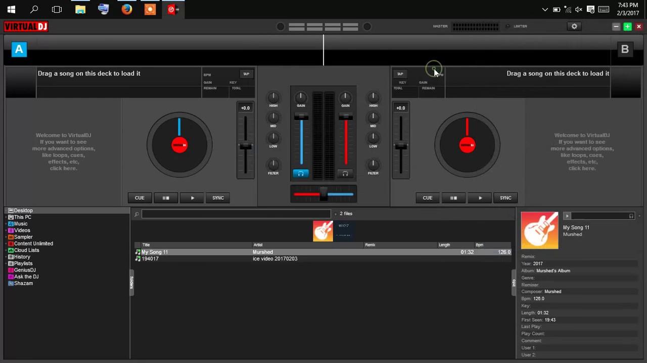 ultima versione di virtual dj da
