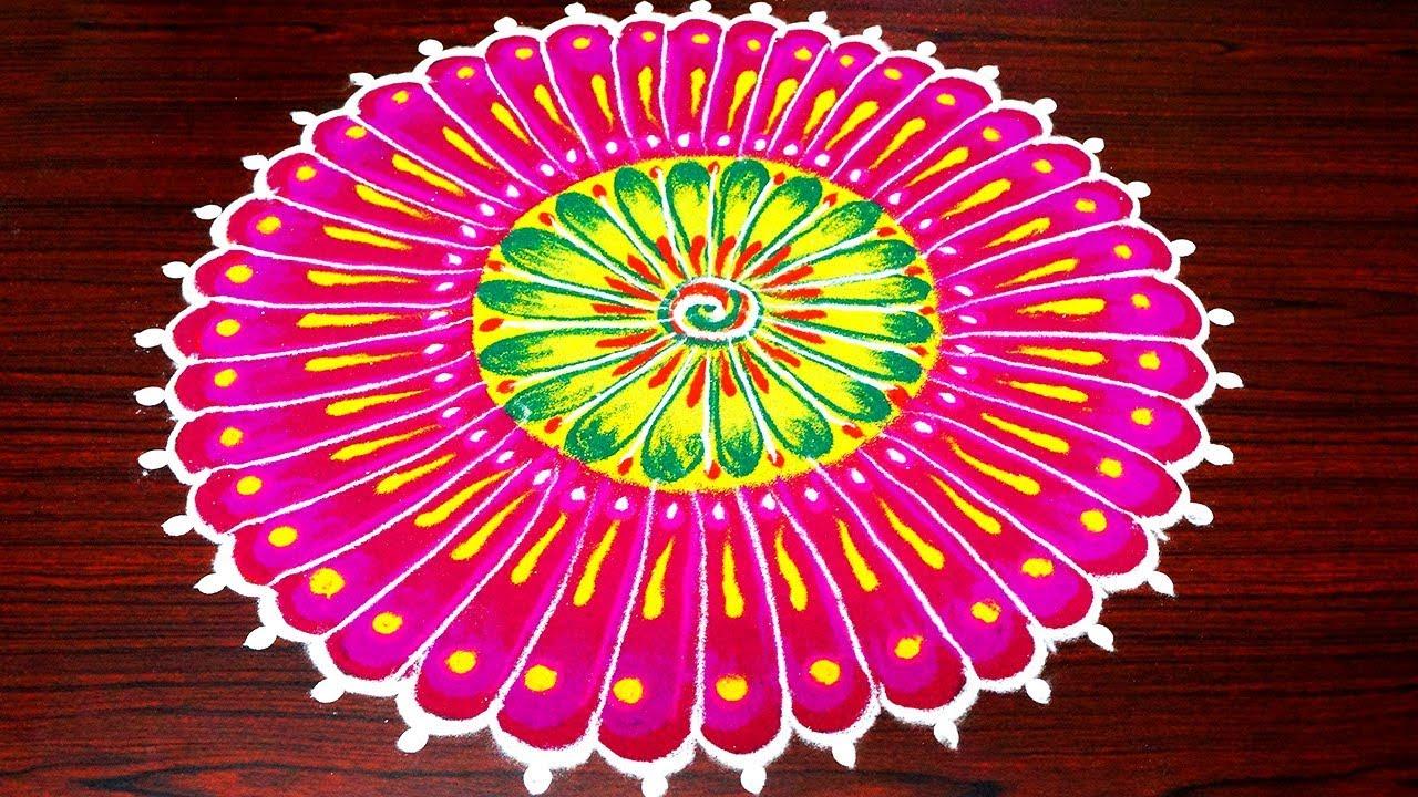 Best And Beautiful Rangoli Designs