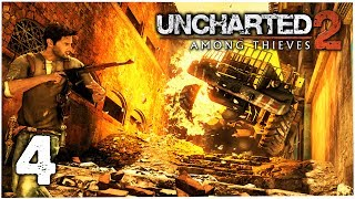 UNCHARTED 2: Among Thieves #4 | Gameplay Playthrough PS4/PT