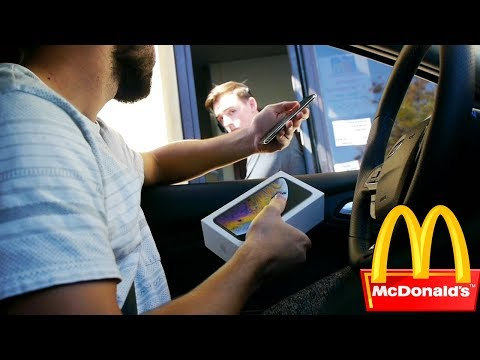 Trying to Pay For My McDonalds Meal with an iPhone XS Drive Thru Experiment