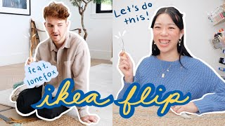 IKEA FLIP: diy makeover feat. Lone Fox | WITHWENDY