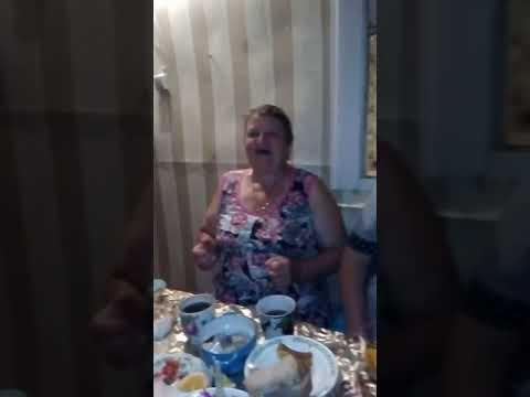 Бабуля поёт 4 татарина