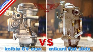Cv Carburetor Vs Mikuni Flat Slide - Ep34 - Roma Custom Bike
