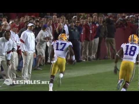 Morris Claiborne LSU Career Highlight [Draft Update w/ Cowboy
