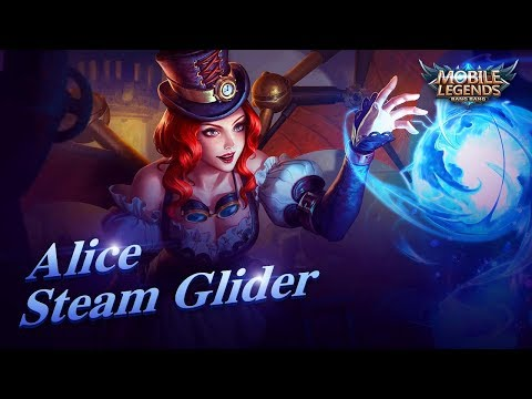 Alice New Skin | Steam Glider | Mobile Legends: Bang Bang! thumbnail