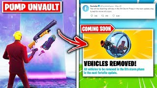 Top 5 HUGE CHANGES Coming to Fortnite SOON!