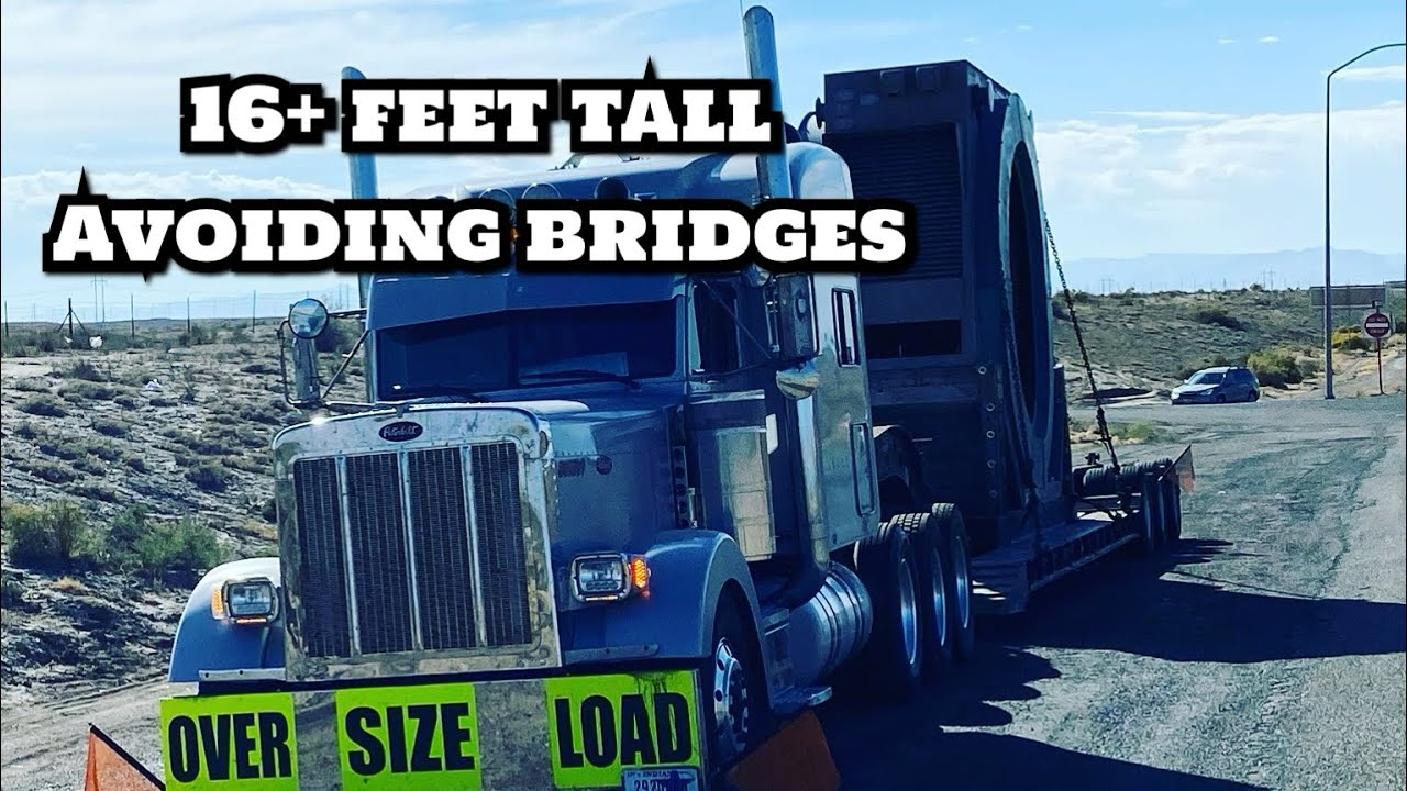 A week in the life of a heavy haul trucker | 16+ feet tall trying NOT to hit bridges